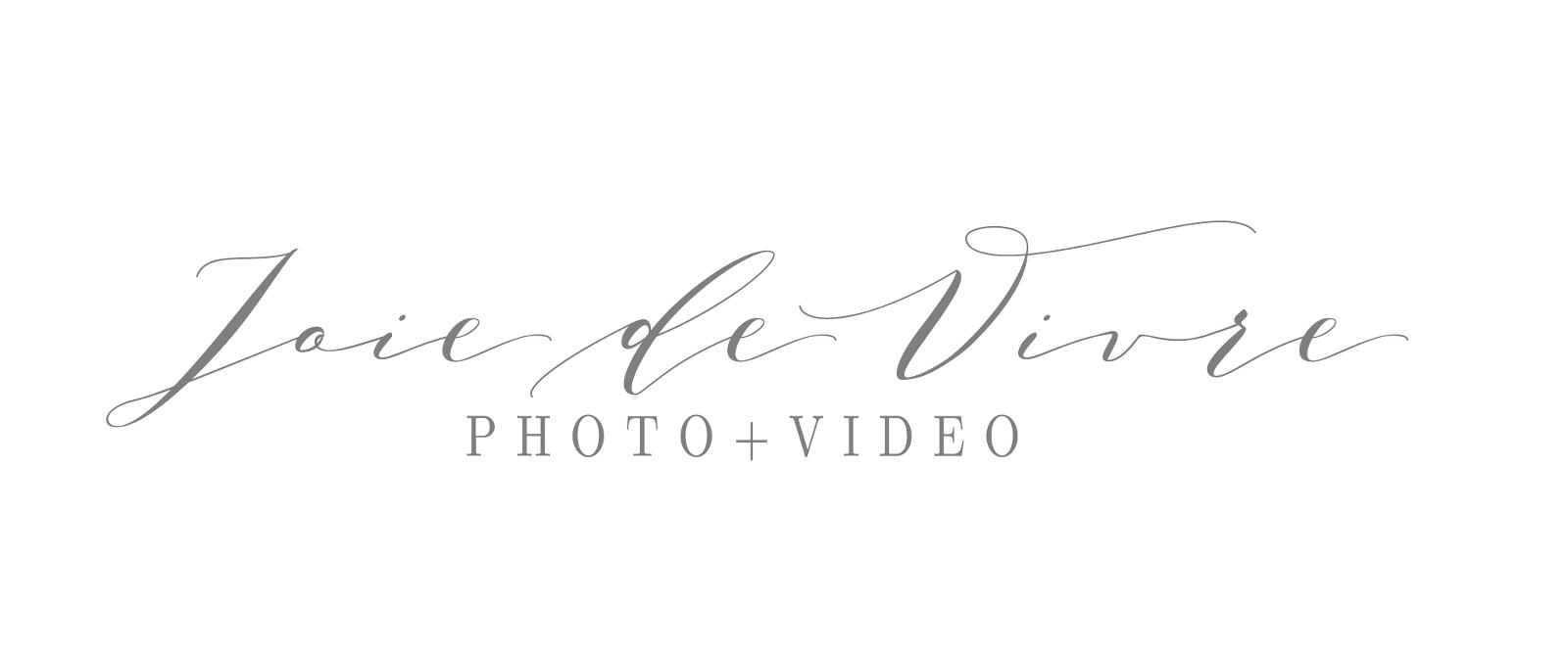 joie de vivre photography logo